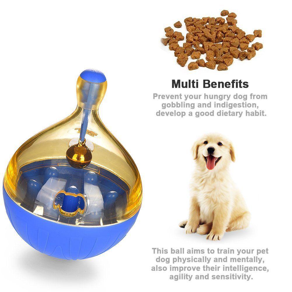 Petacc Treat Ball Indestructible Dog Toys Ball Dog Food Dispenser