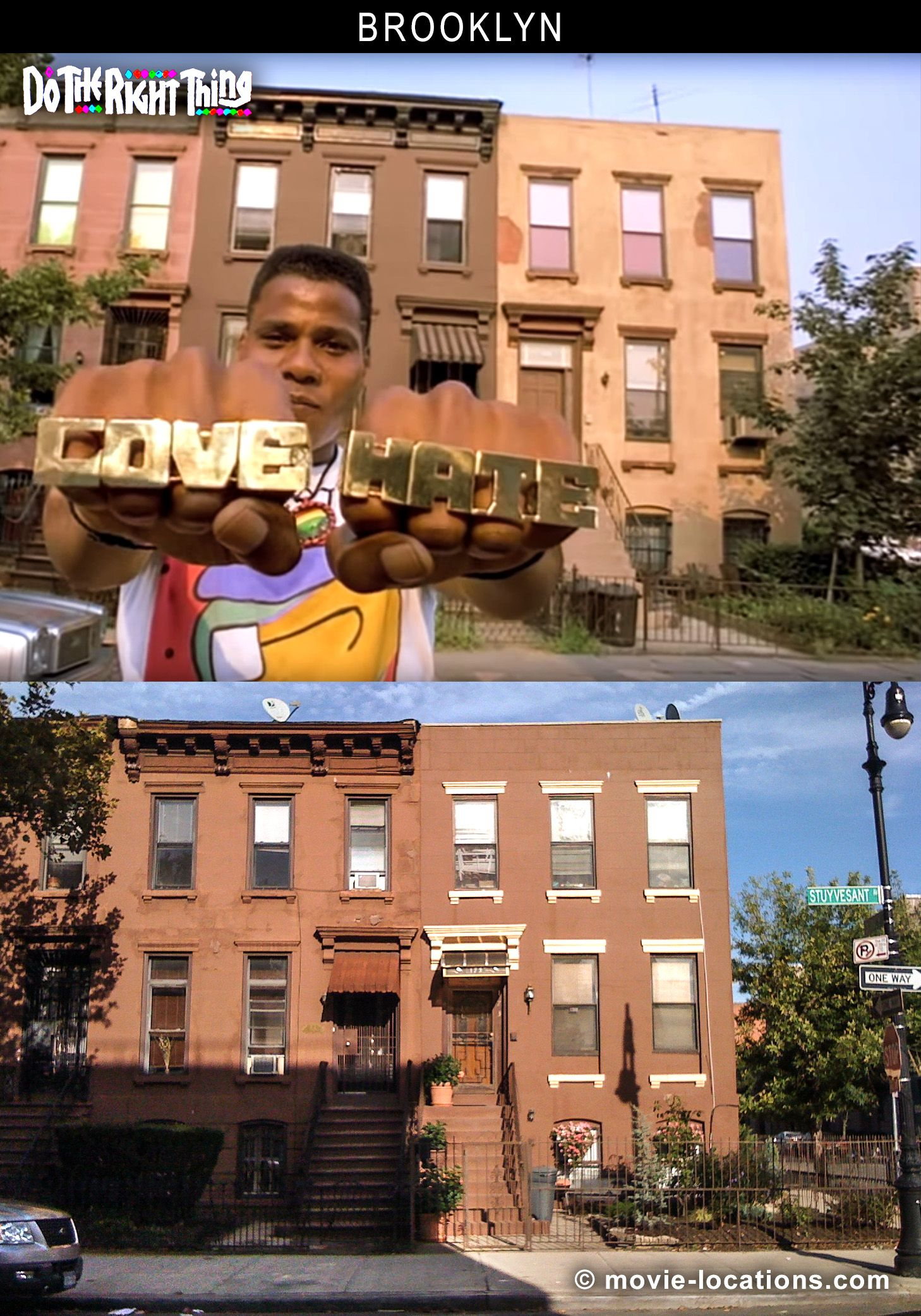 Film Locations for Do The Right Thing (1989), in Brooklyn