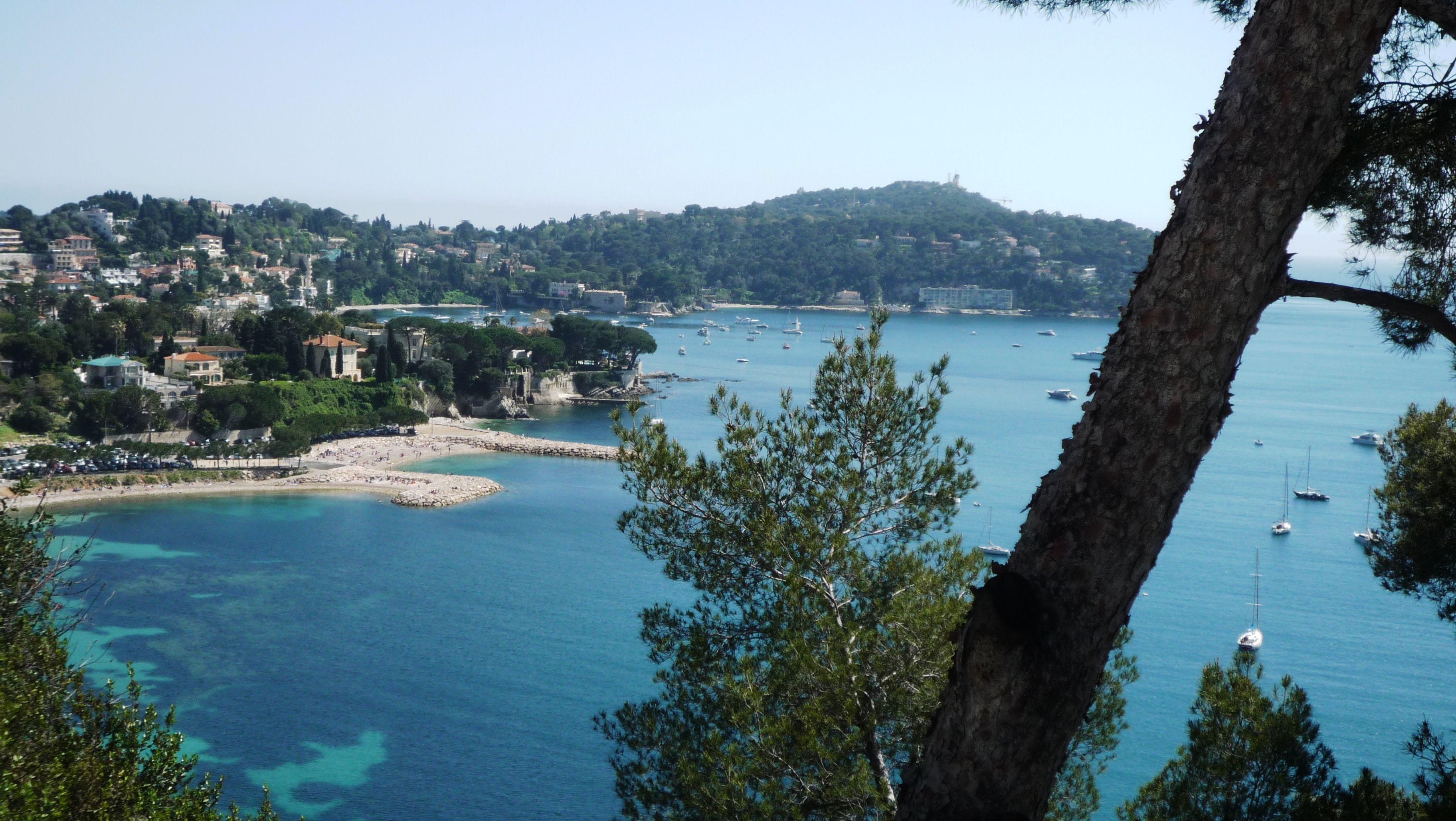 Eze sur Mer-Côte d'Azur-France