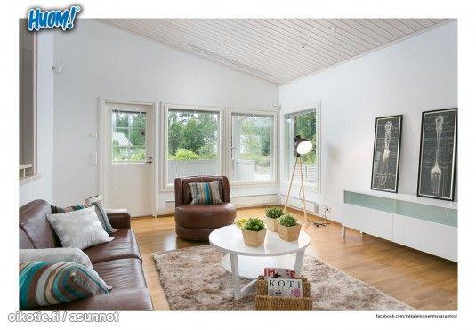 Myytävät asunnot, O.Oksasentie 2 Launonen Loppi #olohuone #oikotieasunnot