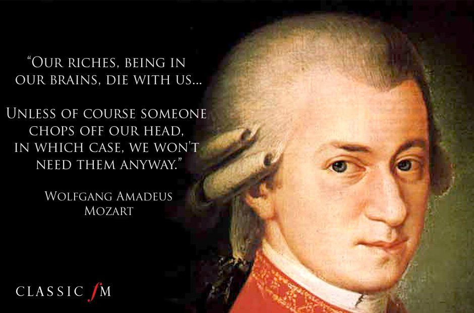 Mozart Citation
