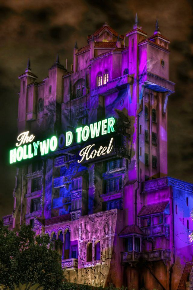 Tower Of Terror Tower Of Terror Hollywood Tower Hotel Disney Photo Ideas