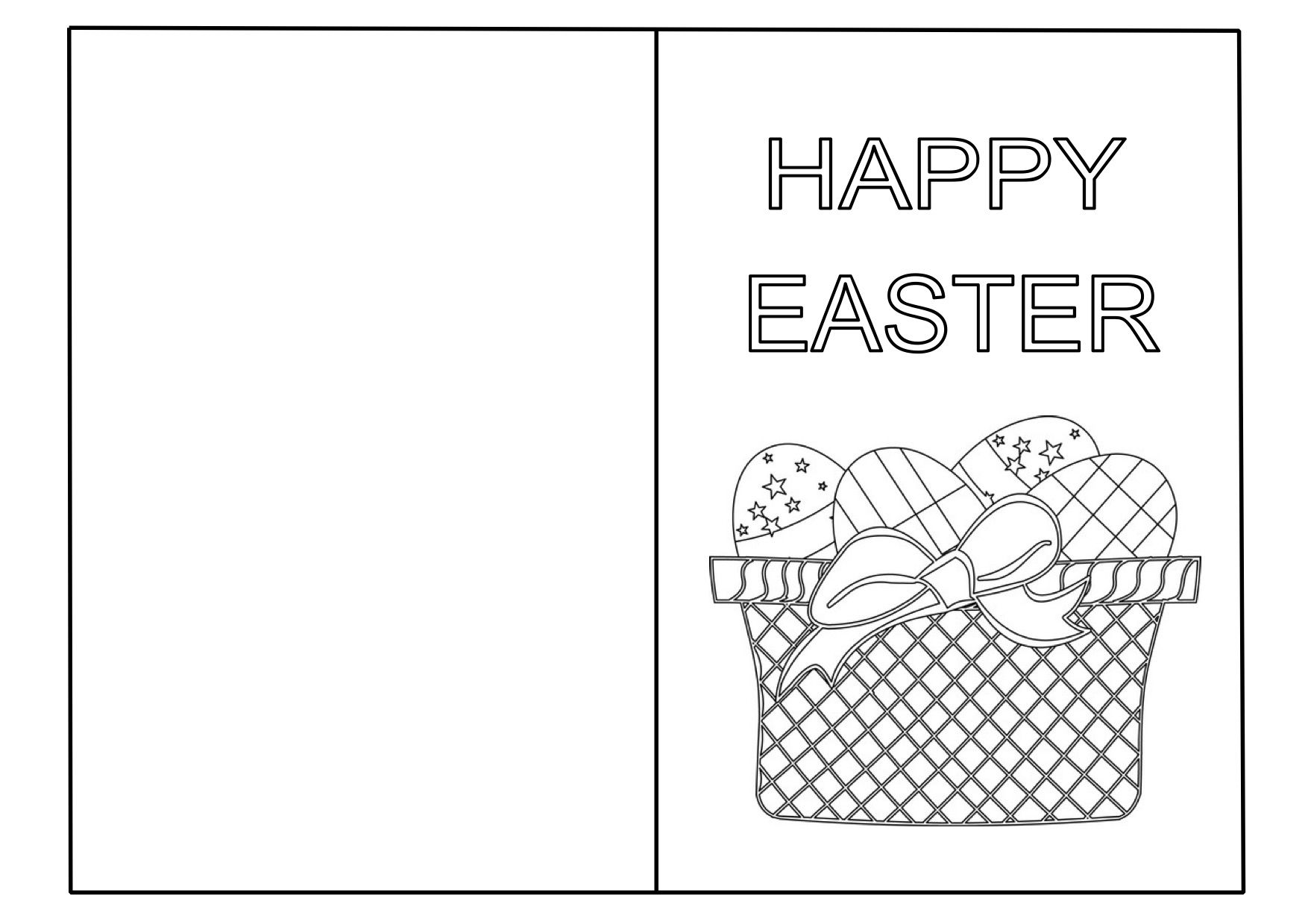 Free Printable Easter Cards The Easter Time Can Pages Our