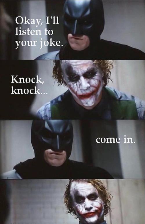 Haha Batman Would Batman Funny Funny Joker Clean Funny