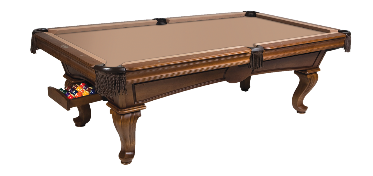 Fairfax Shown With Optional Ball Return System Available Finish