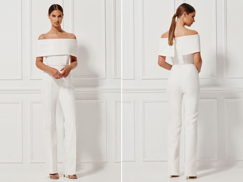Say No To The Dress? 16 Stylish Modern Bridal Jumpsuits