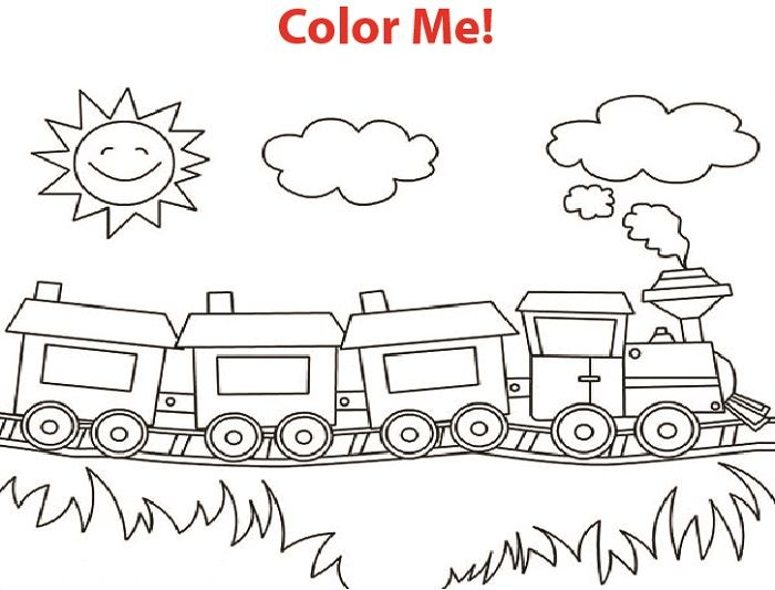 Printable Learning Activities For 2 Year Olds Train Coloring Pages Free Coloring Pages Coloring Pages