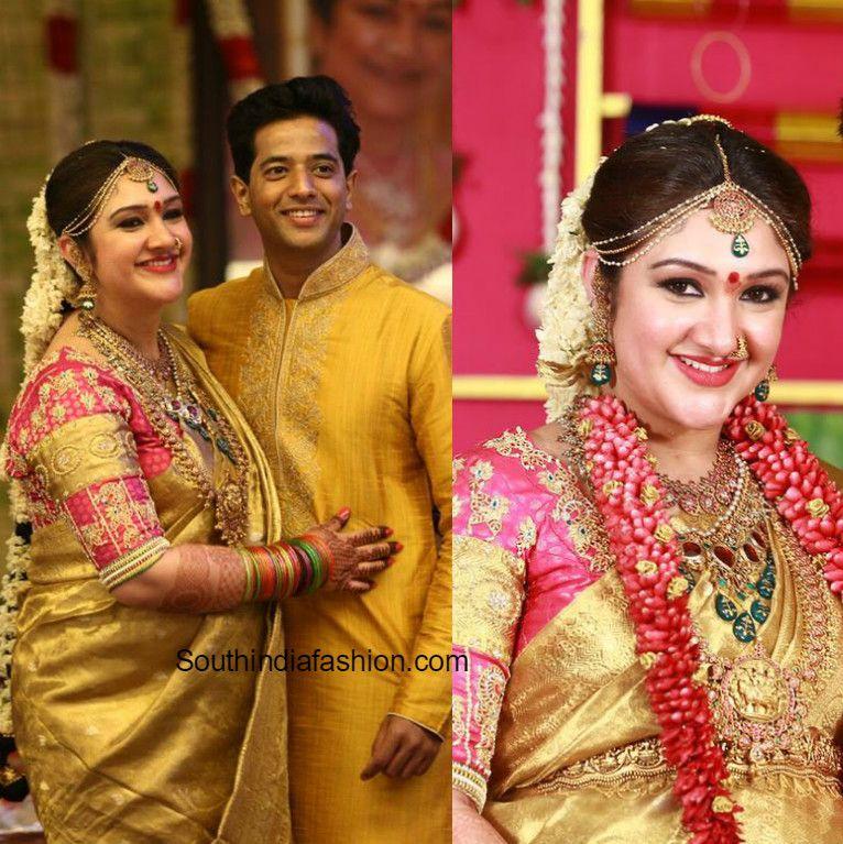 Sridevi Vijaykumar's Baby Shower | Bride Portraits ...