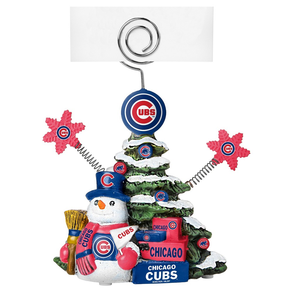 Decorative Holiday Sculpture Topperscot, Chicago Cubs