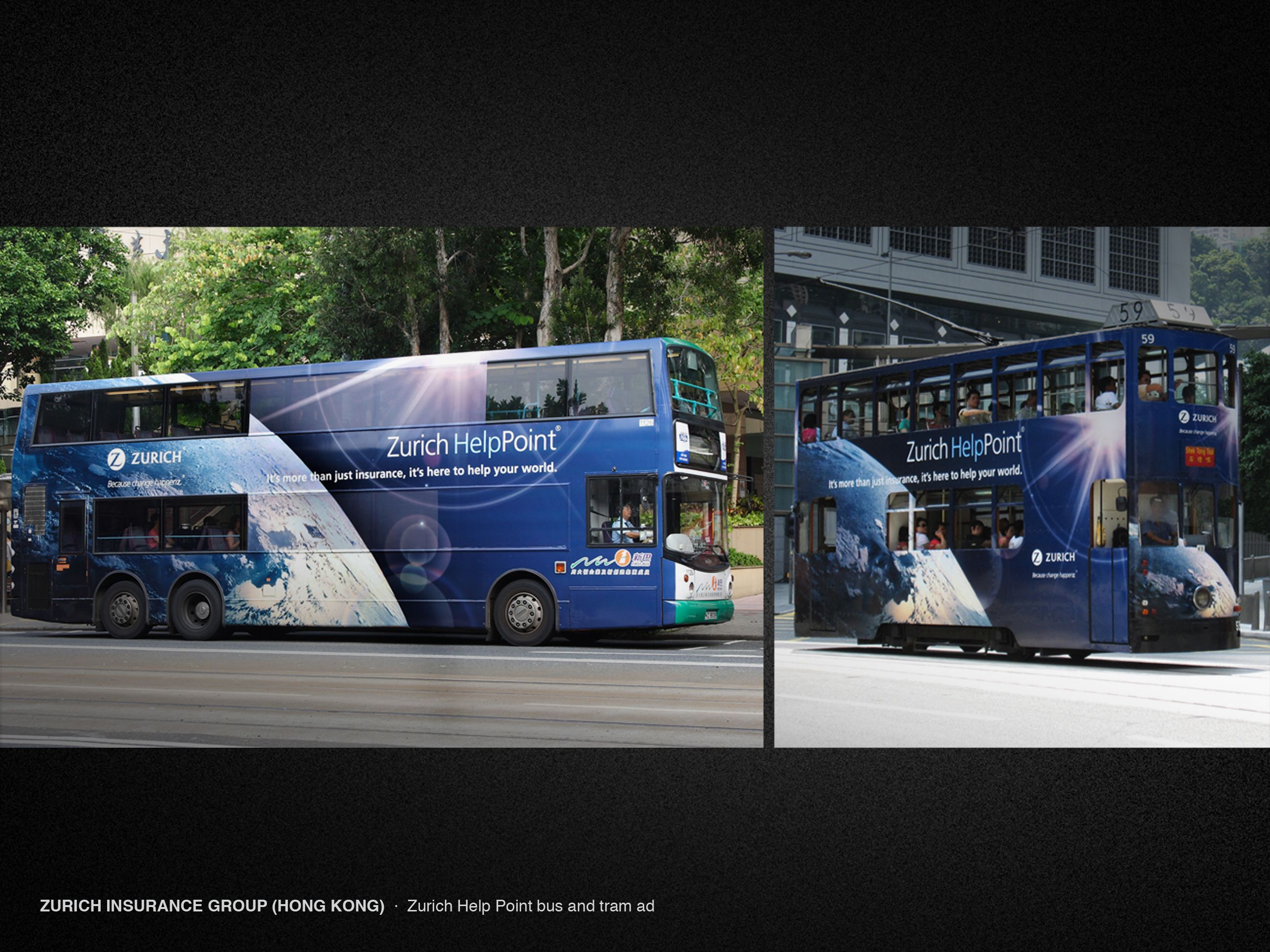 Zurich Insurance Group Hong Kong Zurich Help Point Bus And
