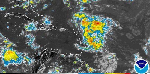 Vigilancia de inundaciones para toda la Isla por fuerte onda...
