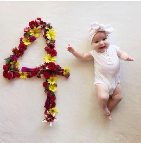 4 Meses Maos De Bebe