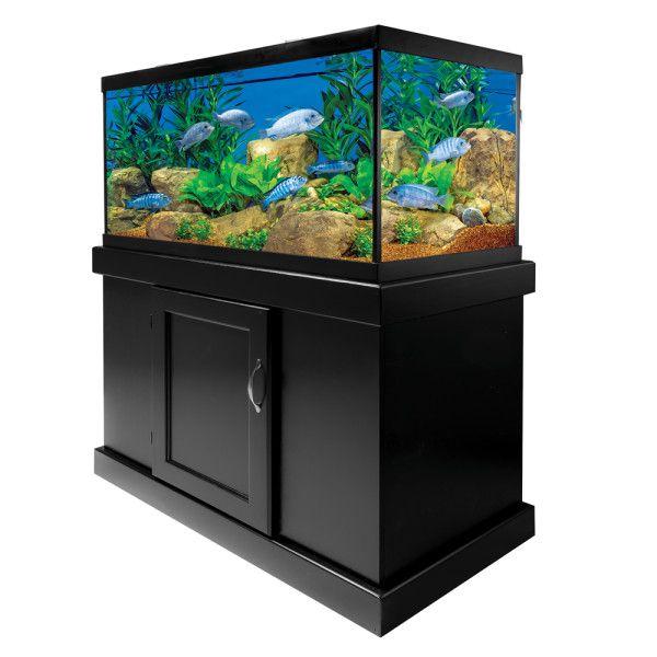 Marineland 53 Gallon Widescreen Ensemble Aquariums Petsmart Petsmart Aquarium Fish Tank Stand