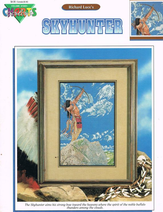 Ccs Color Charts 10601 Skyhunter Counted Cross Stitch Pattern