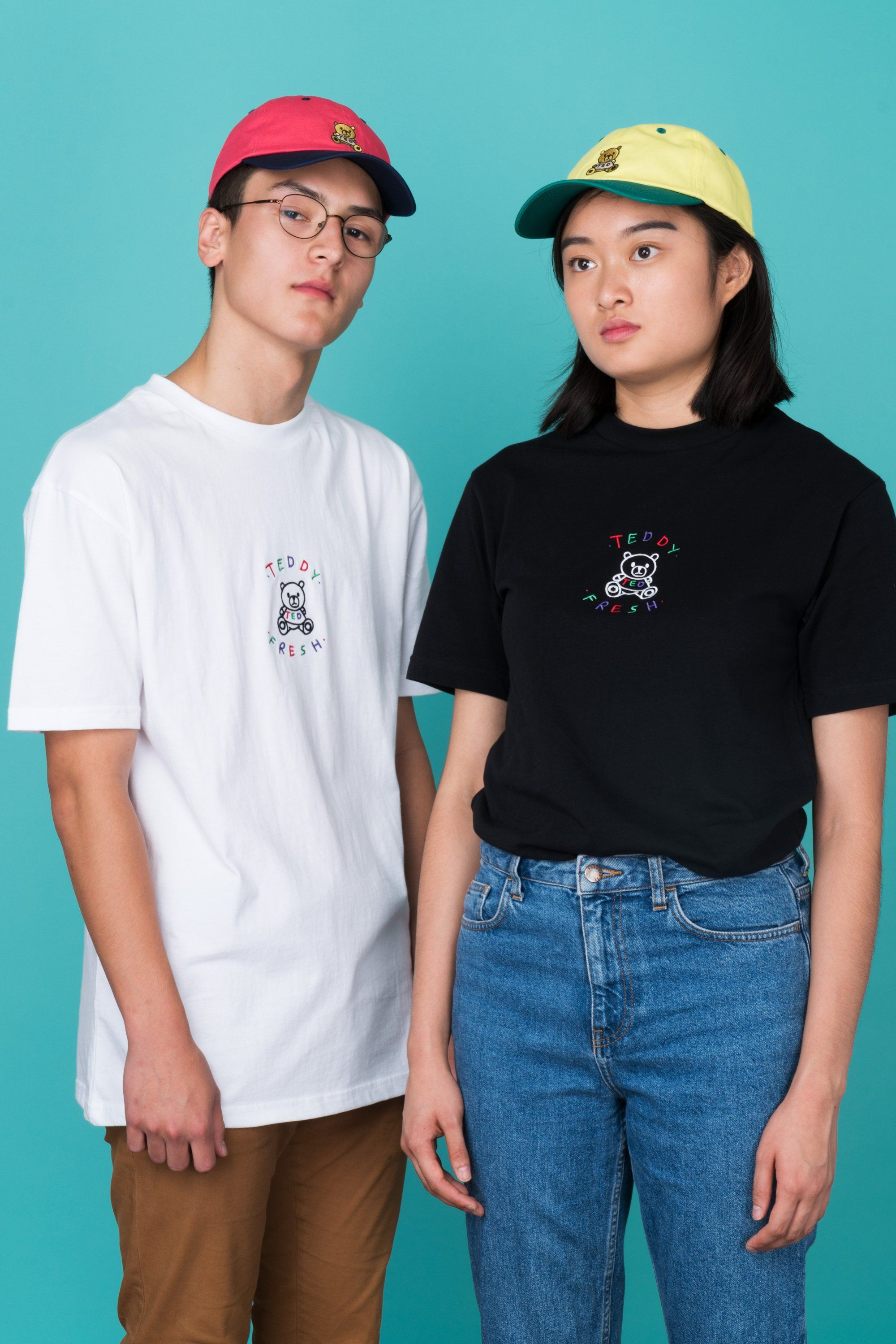 a2a204734d7 White Embroidered Teddy Fresh T-Shirt in 2018