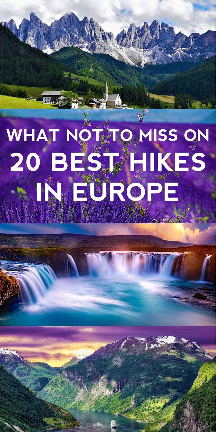 20 Best Hikes in Europe -   #europe #hikes #OutdoorTravelAdventure