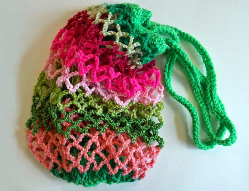 Anleitungen Für Gehäkelte Netze Basteln Pinterest Crochet