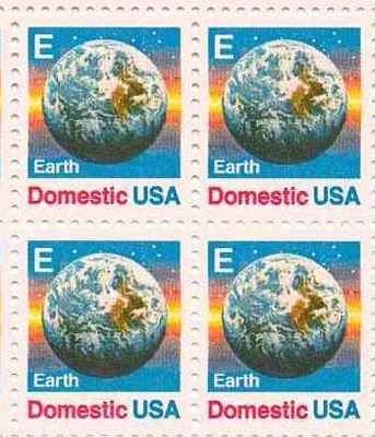 Earth Set of 4 x 25 Cent US Postage Stamps NEW Scot 2277 . $10.95. Earth Set of 4 x 25 Cent US Postage Stamps NEW Scot 2277