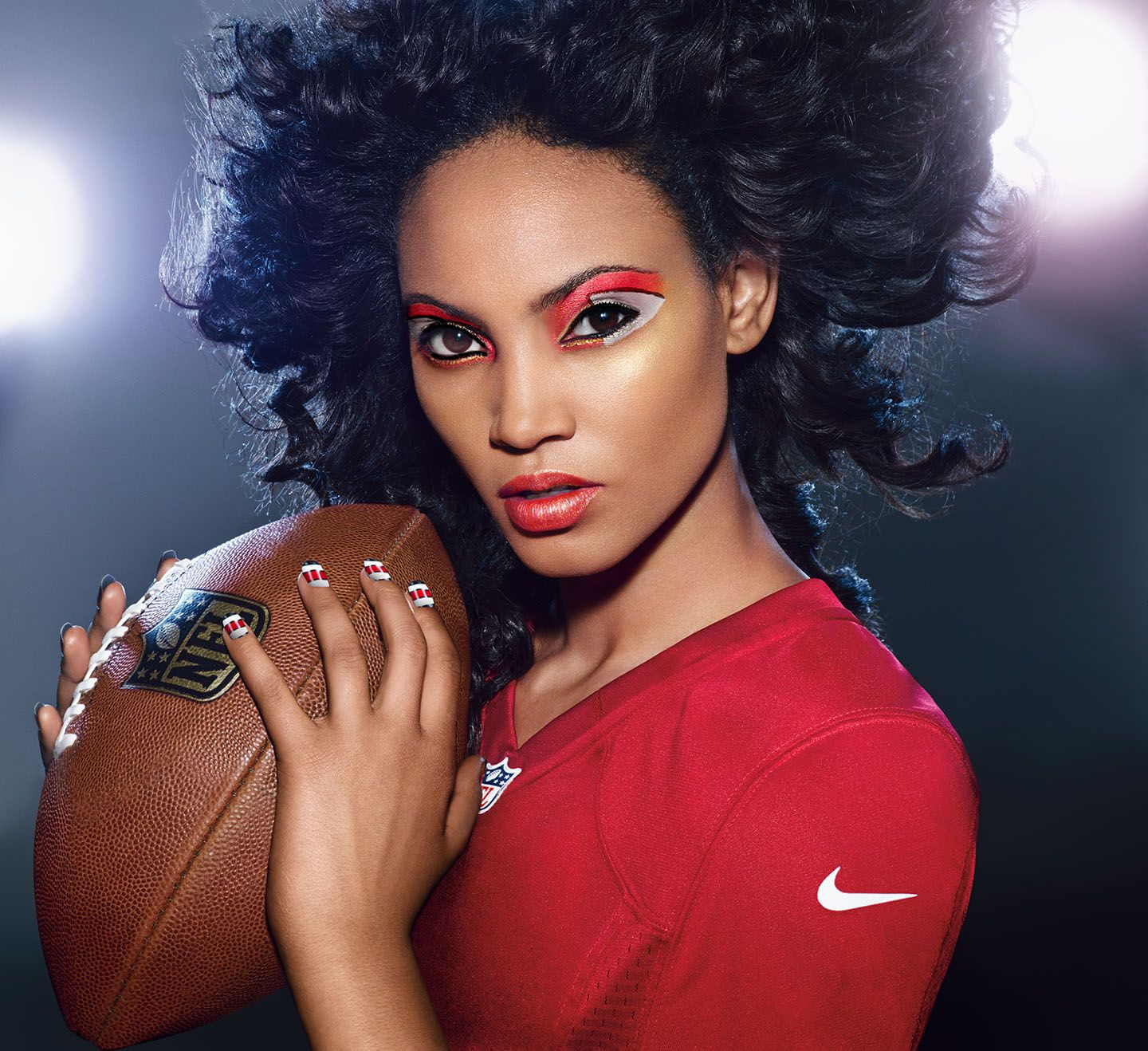 KANSAS CITY CHIEFS fans, get your Covergirl GAMEFACE on
