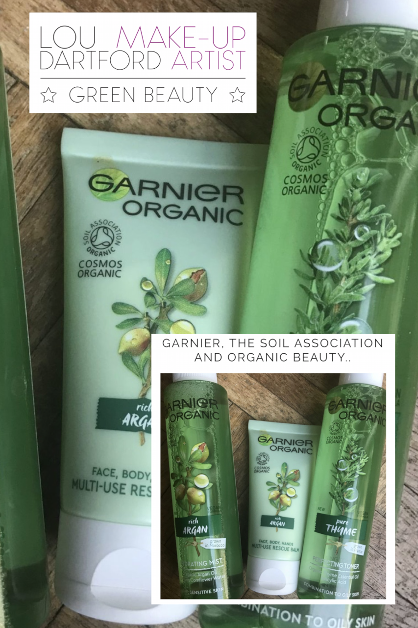 Garnier have launched a Soil Association certified organic skincare line.. it has created a bit of debate within the industry.. what do you think? I think it's great bringing #organicbeauty to the high street making it more accessible..  #organicskincare #skincare #greenbeauty