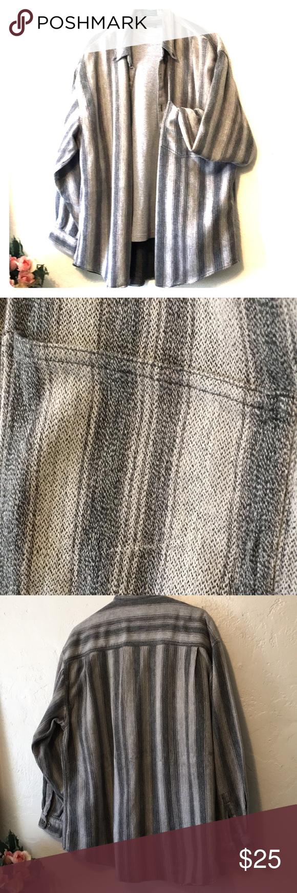 Chemise North 44 100% coton Cette chemise boutonnée est en coton mais elle est chaude comme …   – My Posh Closet