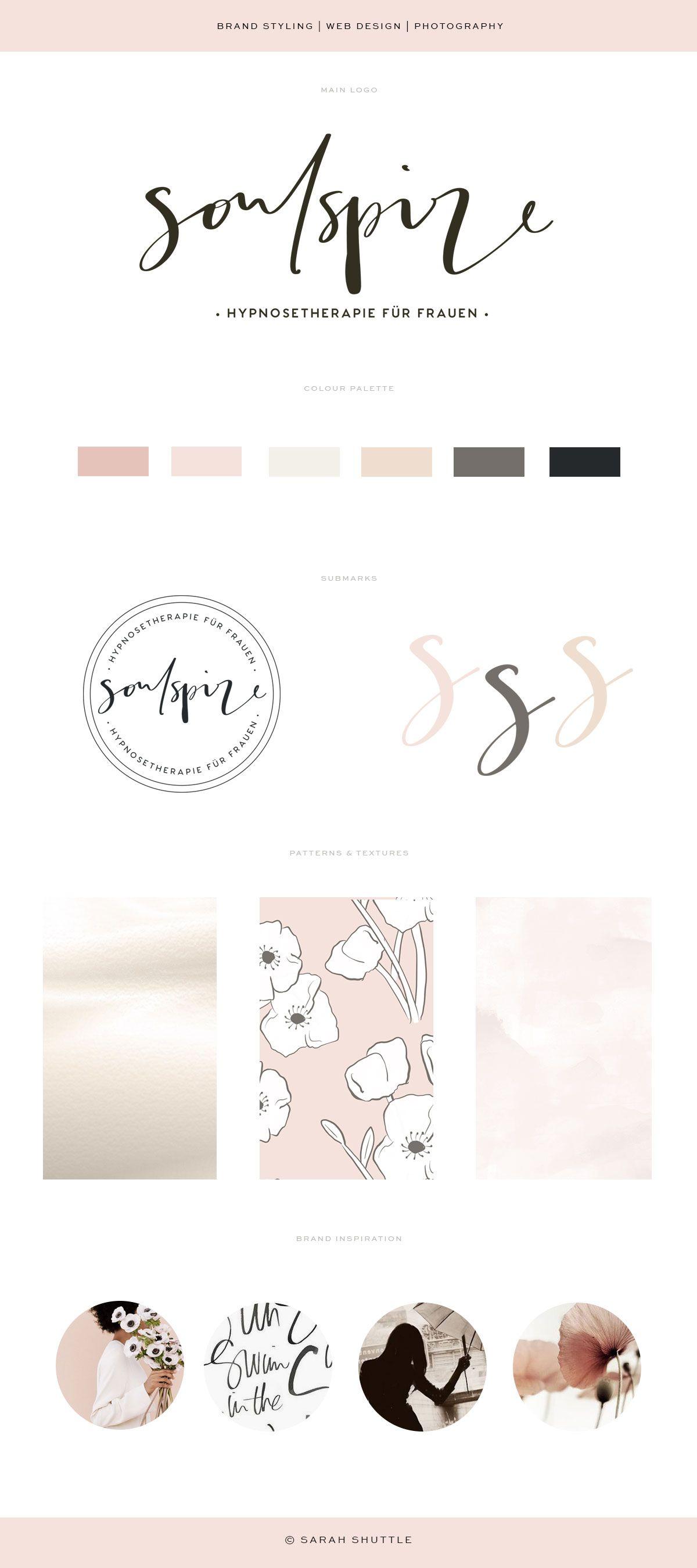 Business Branding For Female Entrepreneur Logo Design Luxury Brand Design Luxury Branding Design Hand Lettering Logo Florist Brand