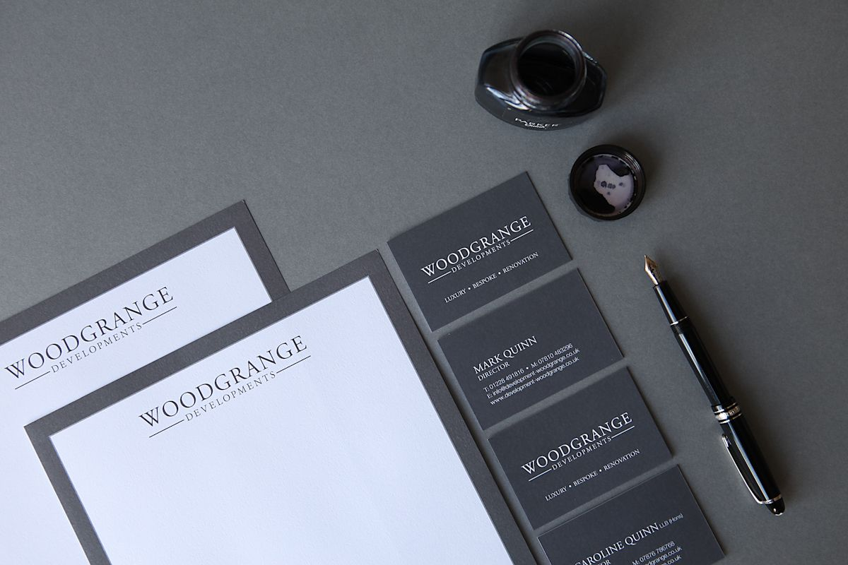 Grey stationery - timeless, but actually very on-trend