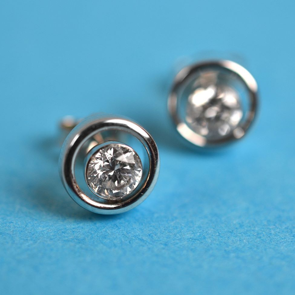 Celebrate Our Proudly Canadian With These Stunning Ice Diamond Earrings