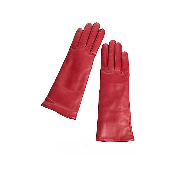 Women's Dents Danesfield Cashmere-Lined Leather Gloves (435 BRL) ❤ liked on Polyvore featuring accessories, gloves, long leather gloves, long gloves, real leather gloves, leather gloves and lined gloves