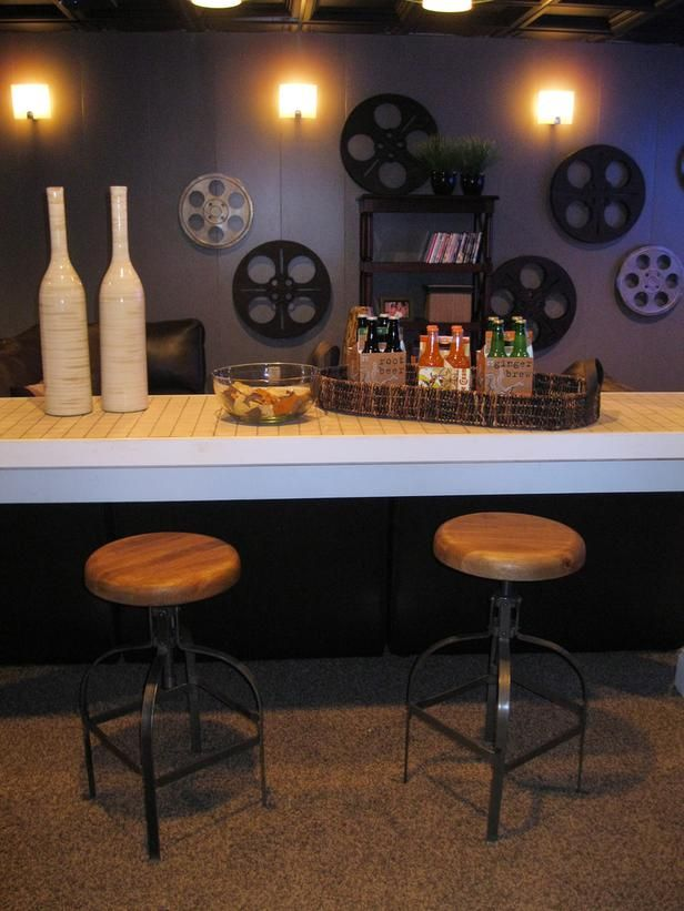 13 Great Design Ideas For Basement Bars Flooded With Basement