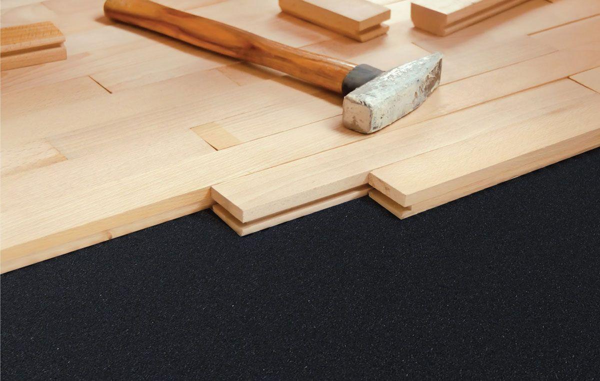 Silent Tread Acoustical Floor Underlayment Underlayment Flooring Sound Proofing Apartment