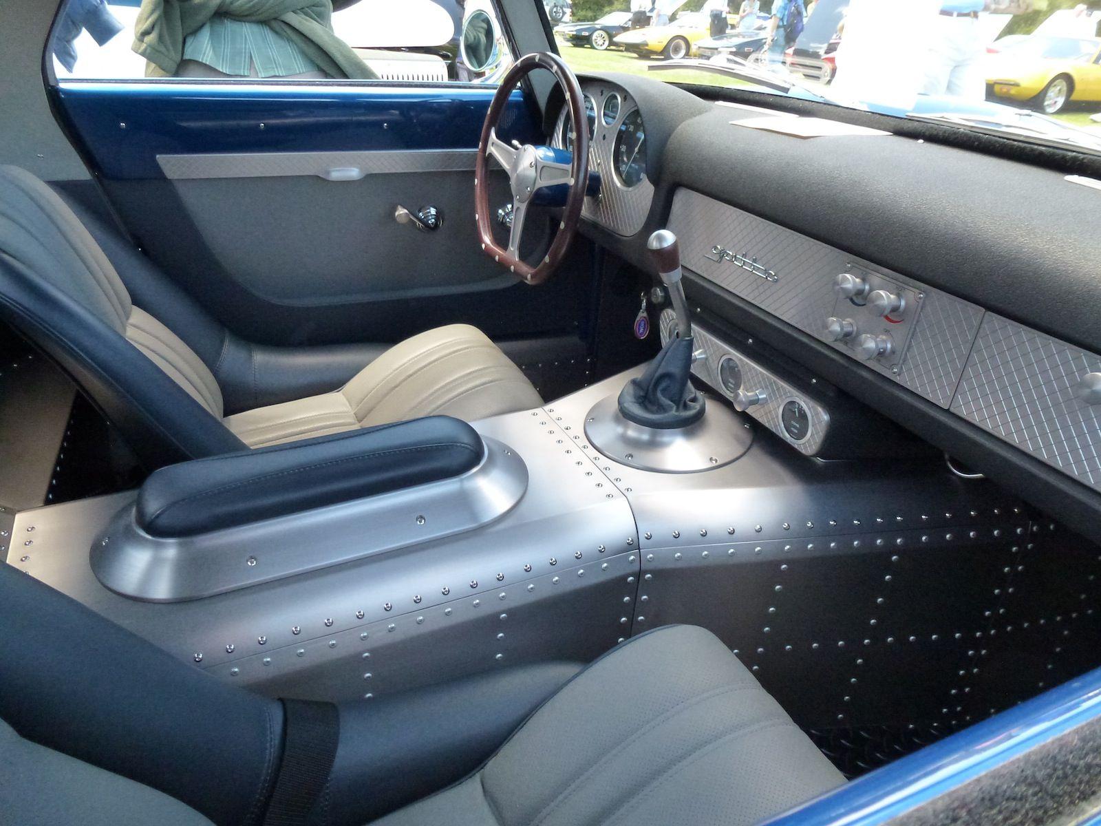 Custom car interior queens ny - Custom Hot Rod Interiors 1957 Ferrari Hot Rod Sheetmetal Design Sheet Metal Console Rivets