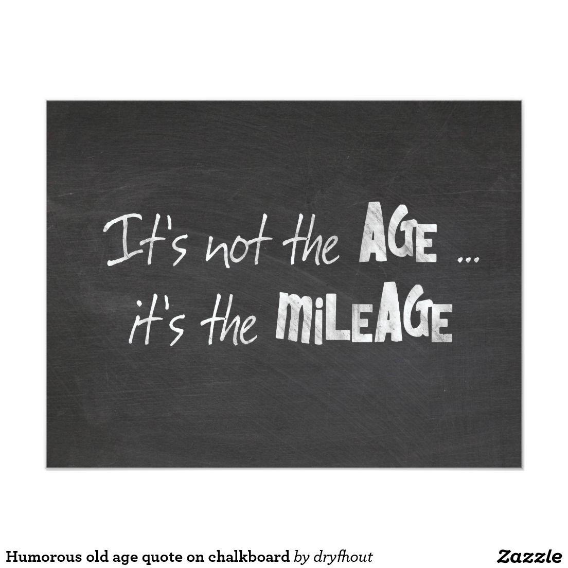 birthday humor quote on chalkboard invitation birthday party
