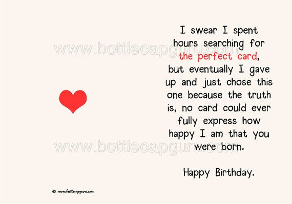 The perfect card happy birthday romantic birthday card for him the perfect card happy birthday romantic birthday card for him or her kids friend printable card funny greeting cards jpg download bookmarktalkfo Image collections
