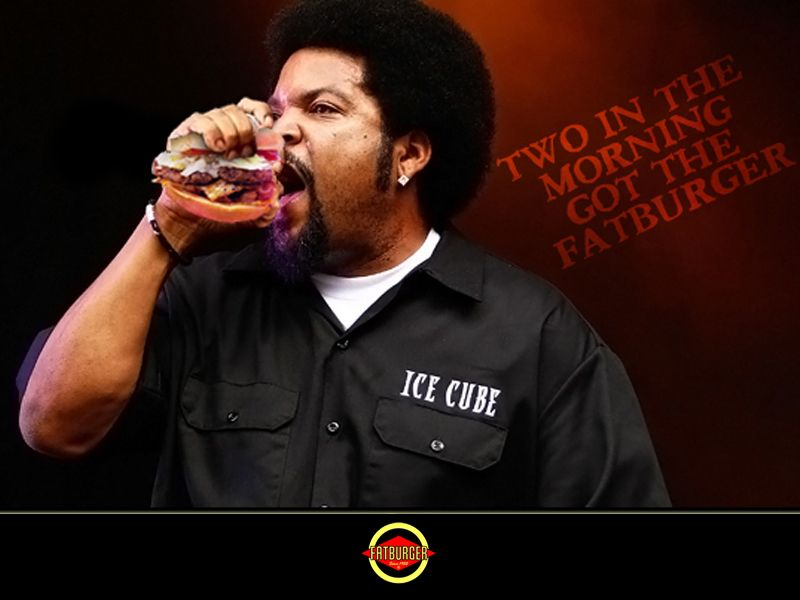 1992 u2013 Ice Cube a famous rapper mentioned Fatburger in his song - new blueprint 2 on itunes