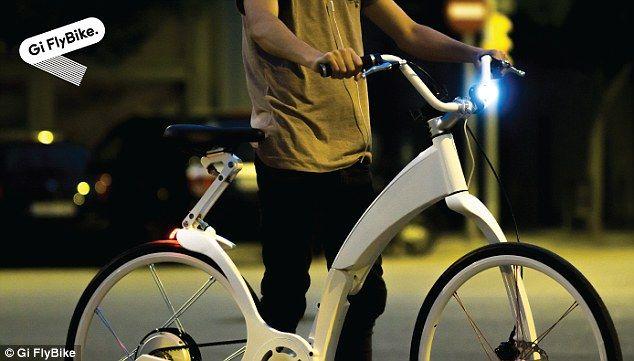 Lectric Bike In Half Locks Itself And Even Charges Your Phone