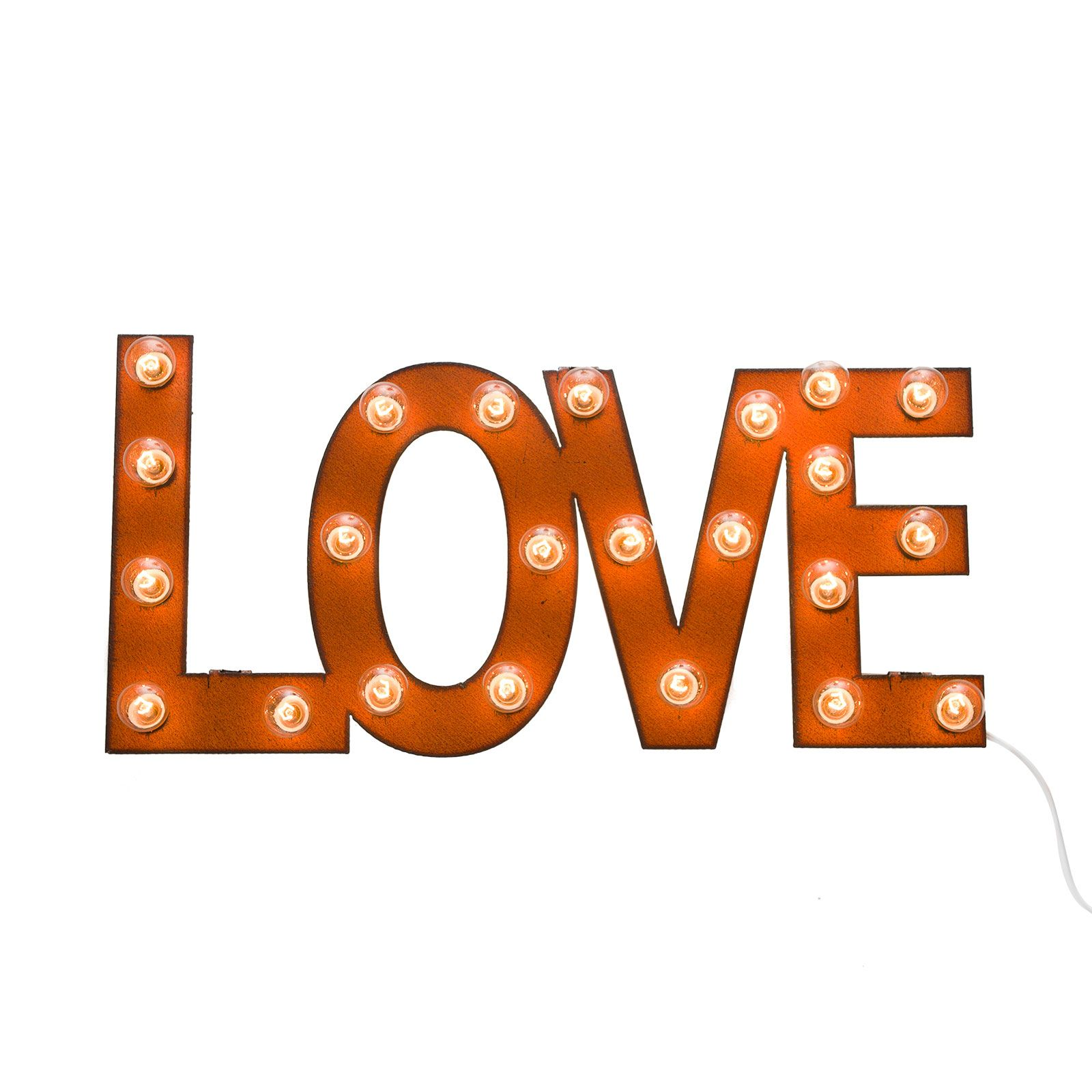 Wedding anniversary decoration ideas at home  All I Need is Love Marquee Sign  dotandbo  For the Home