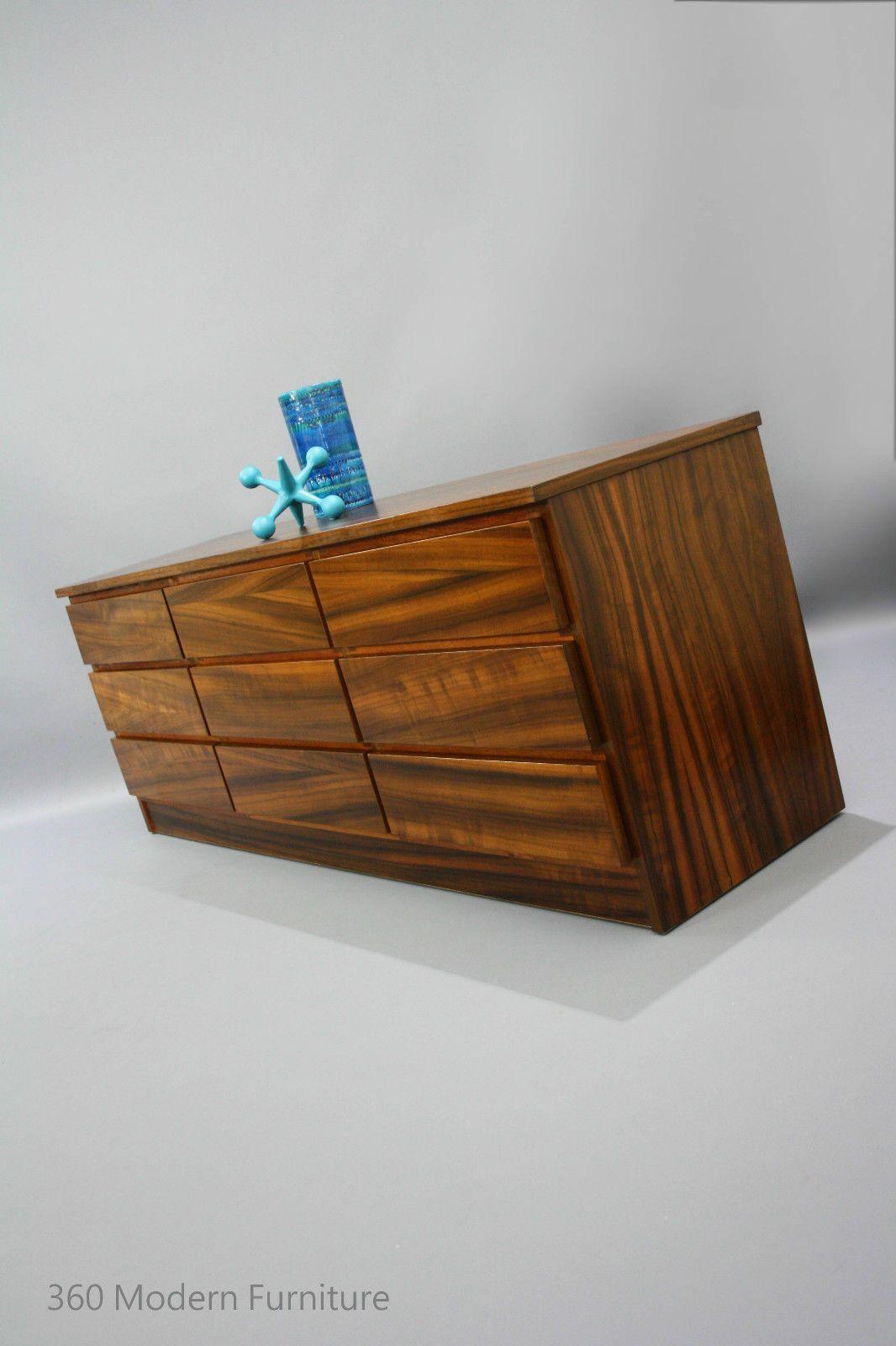 Mid century modern rula sideboard drawers lowline retro vintage teak parker danish era in narre warren 360 modern furniture vic ebay