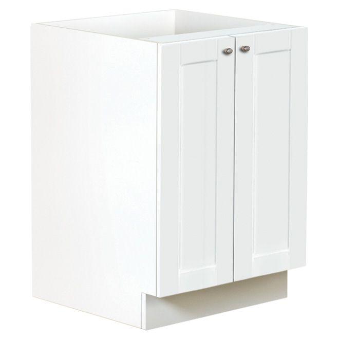 """""""San Diego"""" 2-Door Kitchen Cabinet - White"""