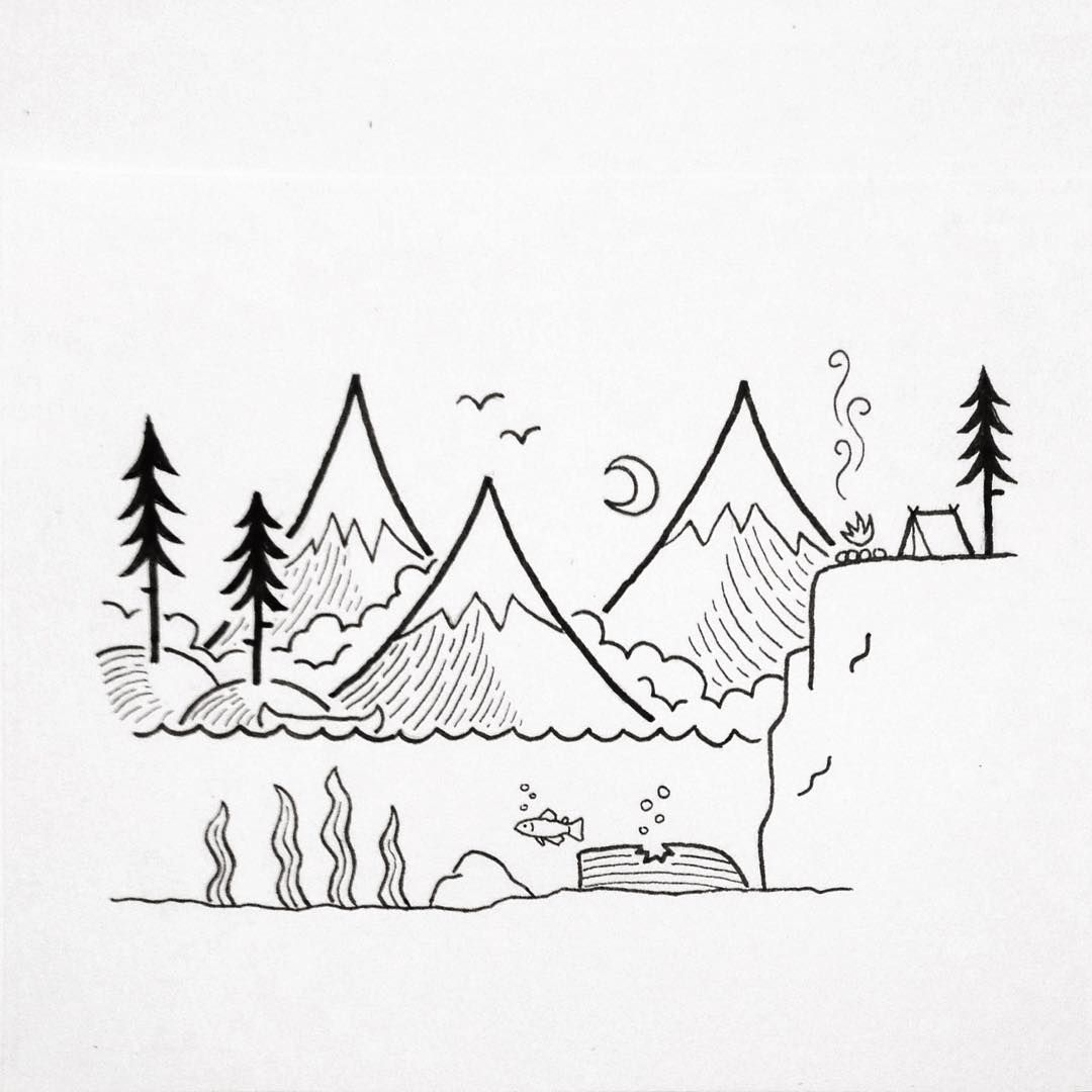 And grows and grows david rollyn minimaliste for Dessin minimaliste