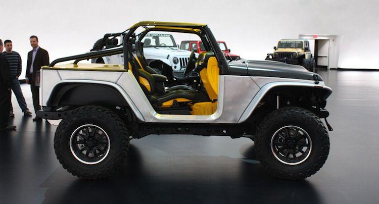 Jeep Llevara 5 Concept Cars Al Easter Jeep Safari 2013