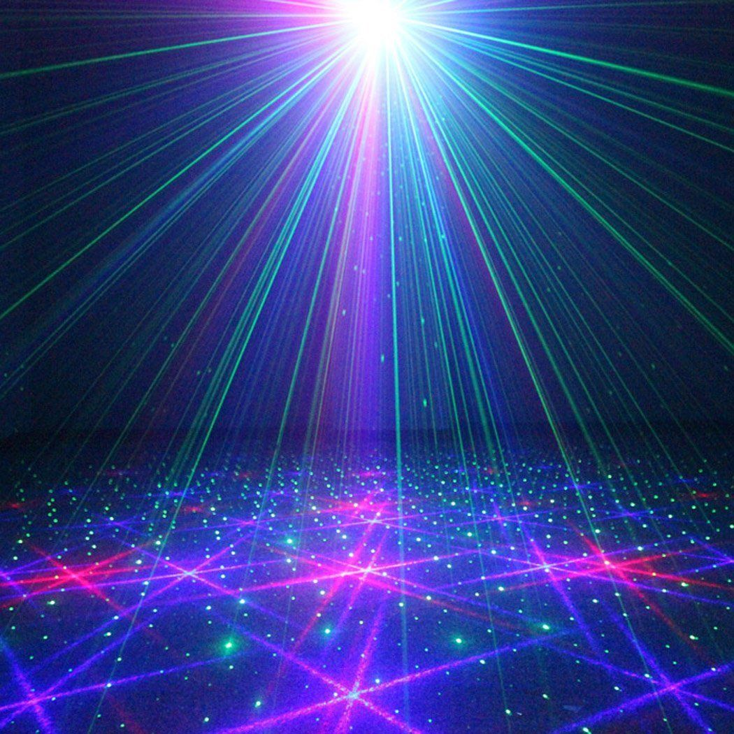 Faded Series Laser Show Projector Sound Active Laser Show Laser Lights Green Screen Video Backgrounds