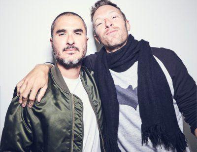 Photos of Chris Martin with @zanelowe on @Beats1