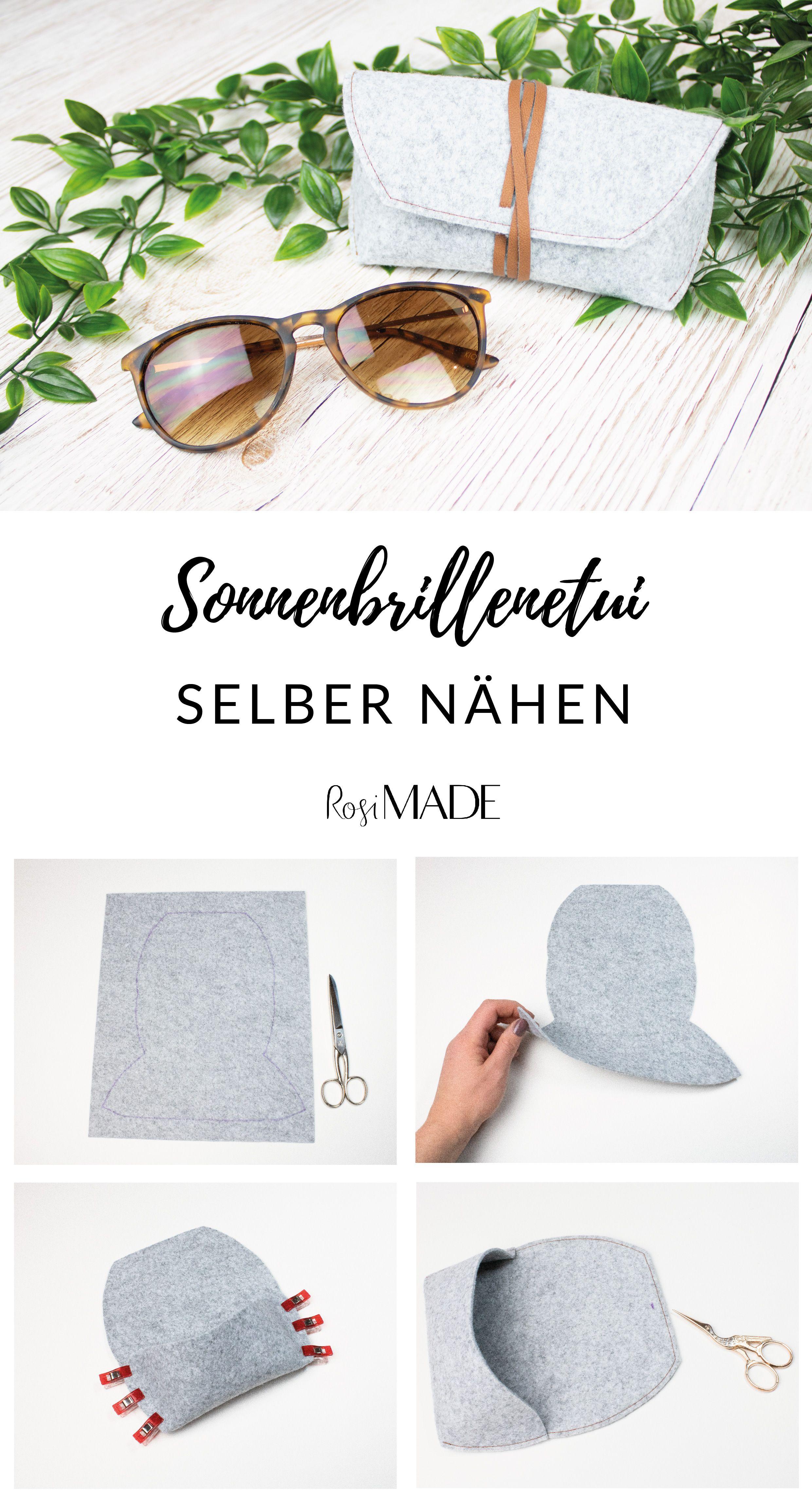 Photo of Kostenlose DIY Anleitung: Sonnenbrillenetui selber nähen. Super einfach und sch …