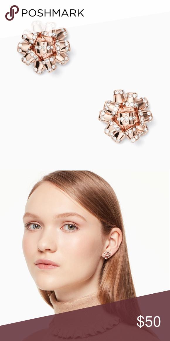 NWT Kate Spade Bourgeois bow pade studs earrings NWT   Pinterest ...