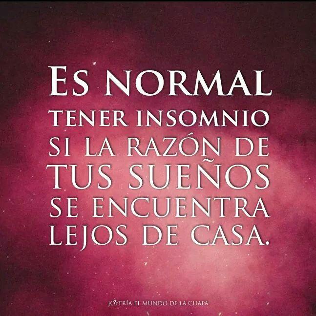 Es normal tener insomnio si la raz n de tus sue os se - La casa de tus suenos ...