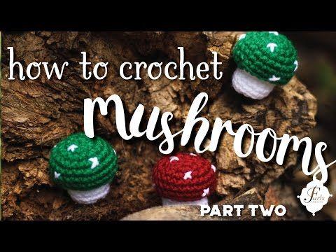 Amigurumi Learn : Furlscrochet learn amigurumi basics with a cute little mushroom