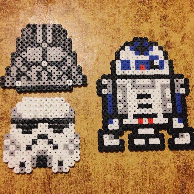 Star Wars perler beads by nahodynamic | ideas perlers | Pinterest