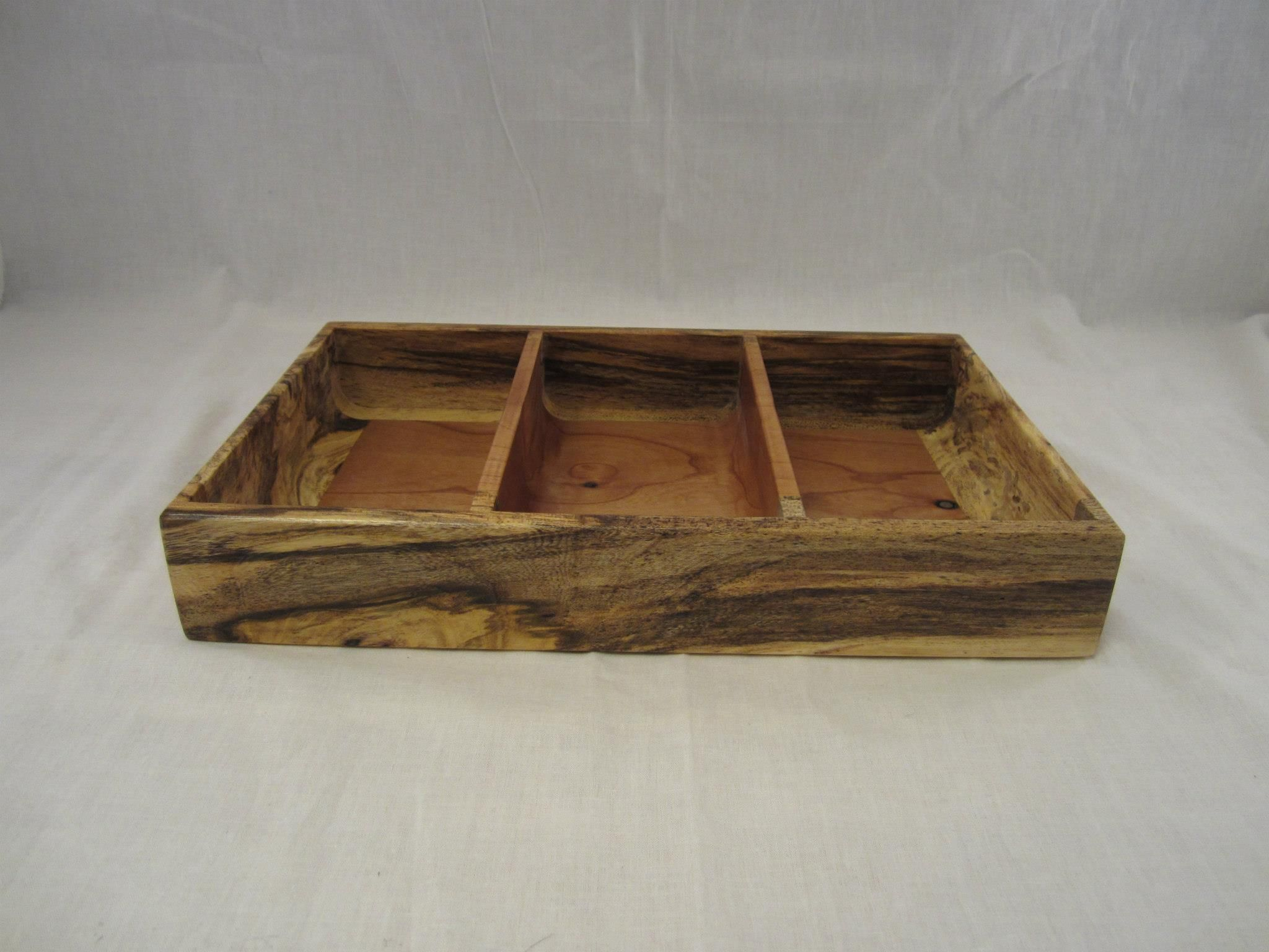 I Handcrafted This Men S Valet Tray From Alder And Spalted