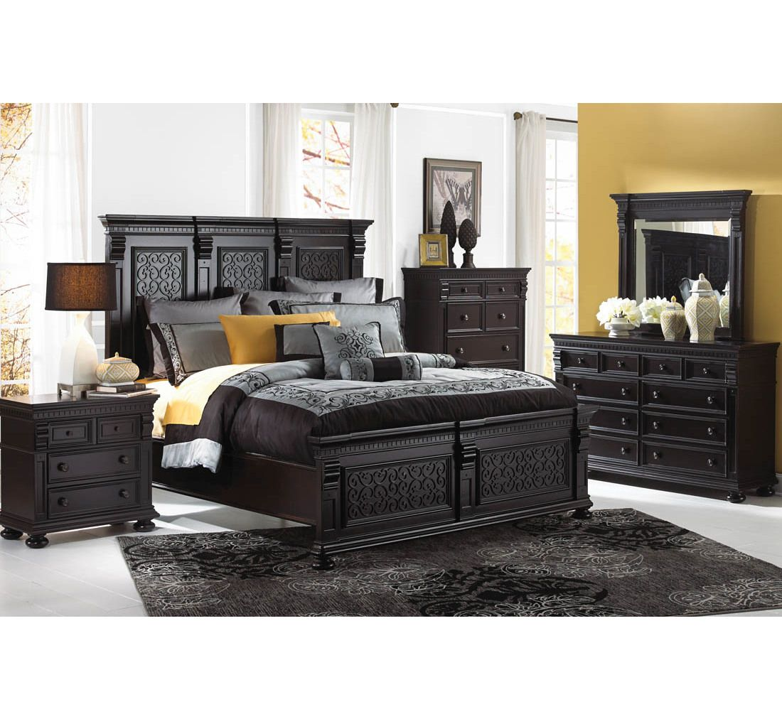 Devereaux 7 Pc Queen Bedroom Group Badcock More Home Is Where